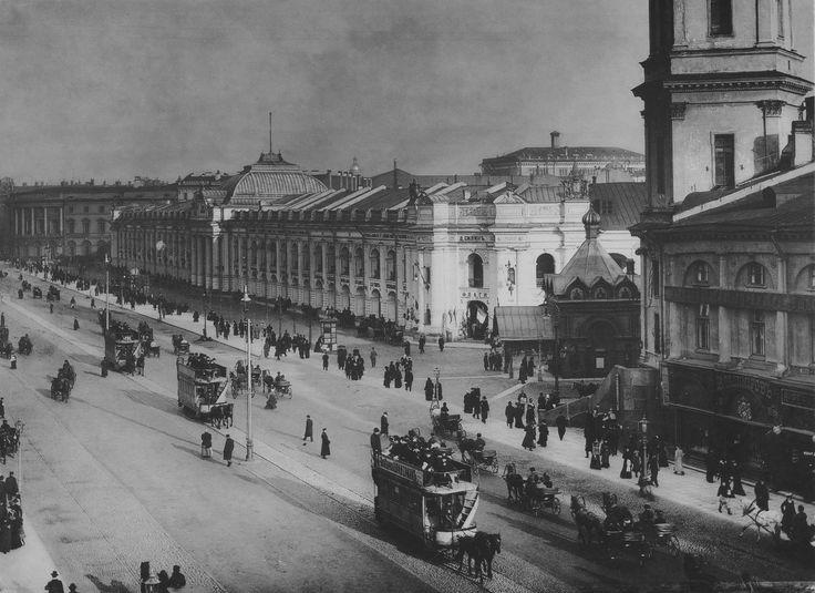 Невский проспект. 1897-1902 гг.