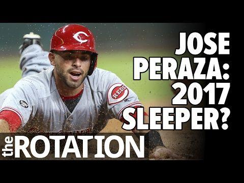2017 Fantasy Baseball: Jose Peraza a Sleeper to Target? w/ Vlad Sedler of RotoWire | The Rotation