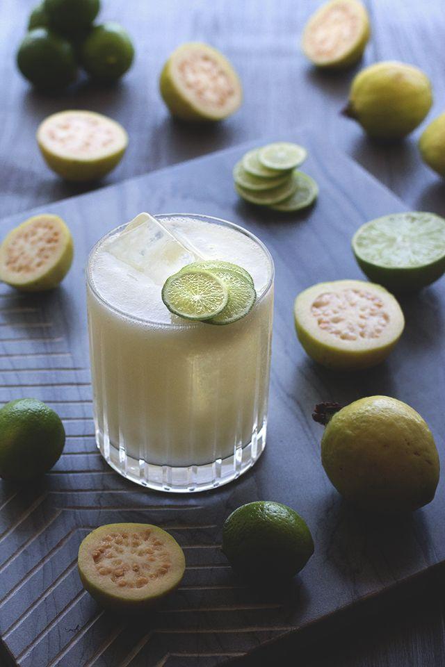 Coconut Guava Agua Fresca / / HonestlyYUM