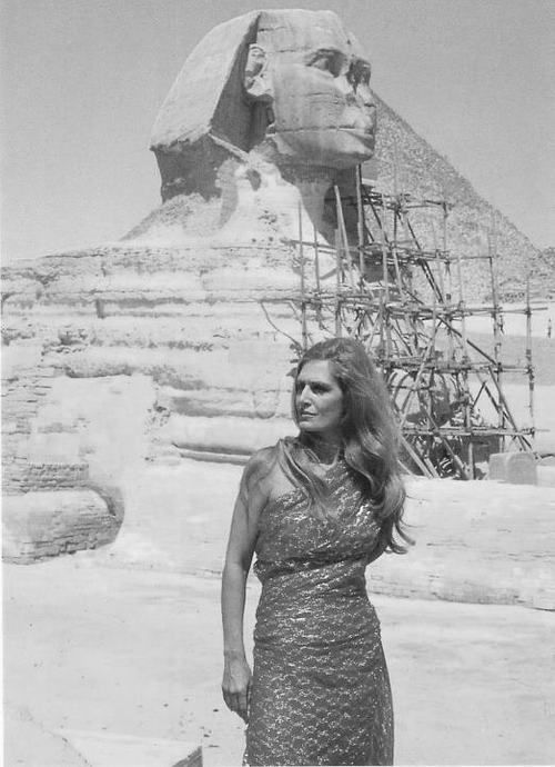 Dalida a singer and model, in Egypt 1960's; she was born in Egypt to Italian parents;  60's fashion | Tumblr