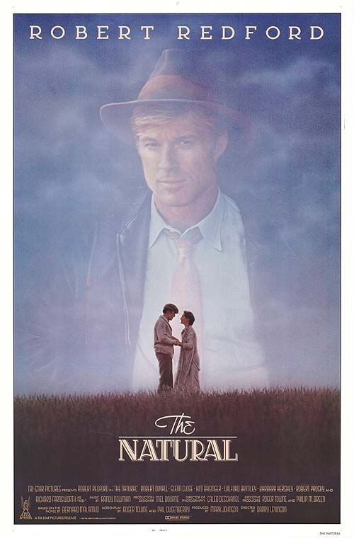 """The Natural (1984). PowerPassage - """"We have two lives to live.  One to learn from and one to live after that."""