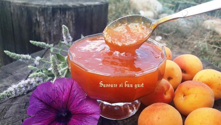 O reteta simpla fara conservanti. Caisele sunt dulci, aromate, gustoase si benefice pentru sanatate