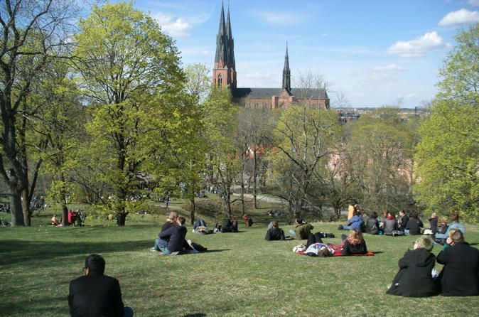 Swedish Lifestyle and Private Walking Tour of Uppsala A guided walk in Uppsala - a city of learning. In a pleasant mix of old and new this tour will take you to some of the main sights in central Uppsala - the cathedral, the castle and the university. The guide will also tell you about modern life in Uppsala with a unique focus on ecofriendliness, gender equality and city development. This tour will make you feel at home in a charming city a short train ride from Stockholm. (3...
