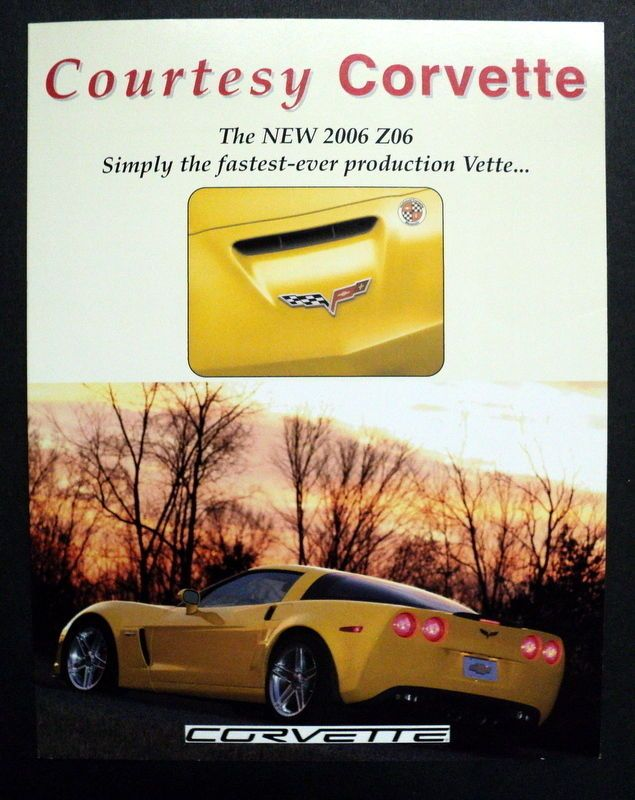 Chevrolet 2006 Corvette Z06 Brochure