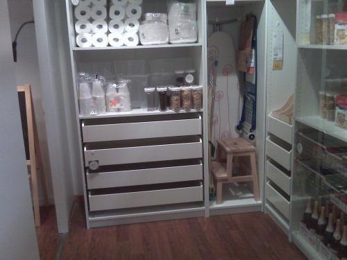 pax wardrobe pantry