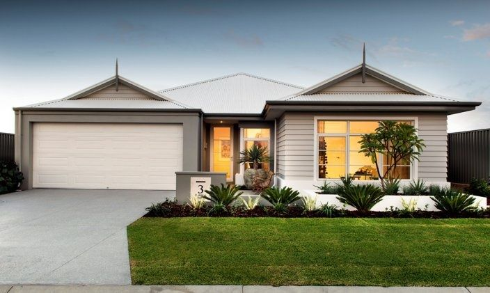 Render and weatherboard house facades pinterest for Modern weatherboard home designs