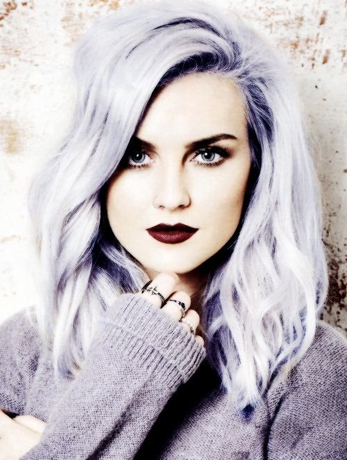 Perrie edwards with purple hair is JUST SO BEAUTIFUL ♥♥♥♥♥♥♥♥♥♥♥♥♥♥♥♥♥♥♥