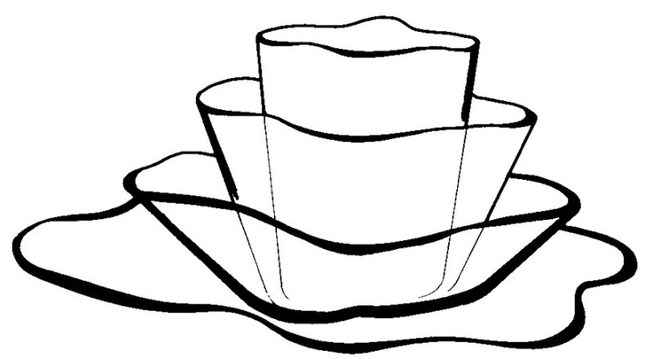 Aalto vases by Hugo Alvar Henrik Aalto, the Finnish architect. Made by Iittala.