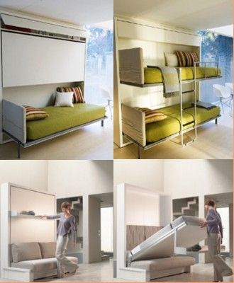 modern fold away bunk beds classy condos blog archive fold away bed systems for the home. Black Bedroom Furniture Sets. Home Design Ideas