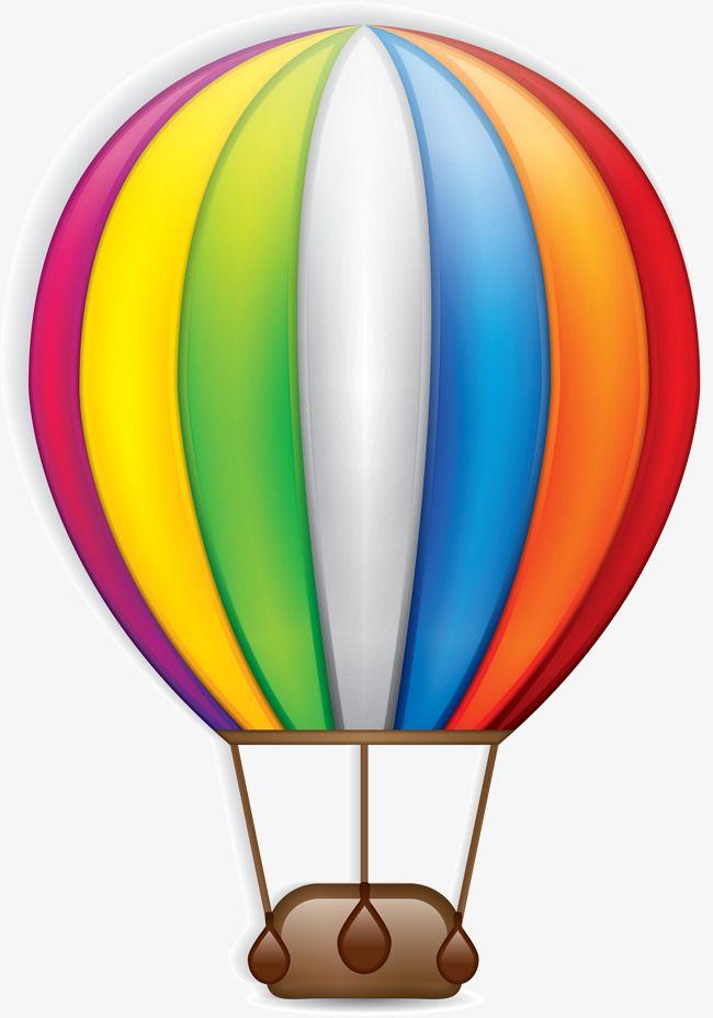 Colorful Cartoon Hot Air Balloon Hot Air Balloon Clipart Hot Air Balloon Decorations Hot Air Balloon Drawing