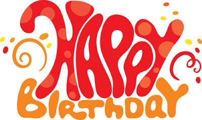 Letras Happy Birthday grandes