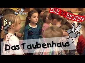 Das Taubenhaus - Singen, Tanzen und Bewegen    Kinderlieder - YouTube