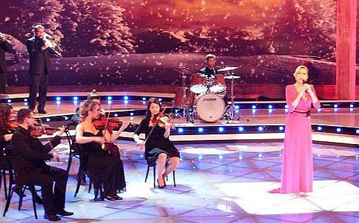 Die große Show der Weihnachtslieder - velká vánoční show německé TV MDR prosinec 2014.