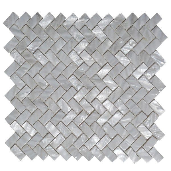 This 0 6 X 1 2 Seashell Mosaic Tile In White Is Made Of Genuine Natural Mother Of Pearls No Radiation No Polluti Shell Mosaic Tile Shell Mosaic Shell Tiles