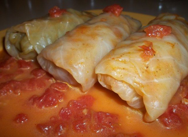 Tolma (Georgian: კომბოსტოს ტოლმა), known as Dolma in Armenia, Azerbaijan and Turkey, is a popular meal in Georgia and many other countries a...