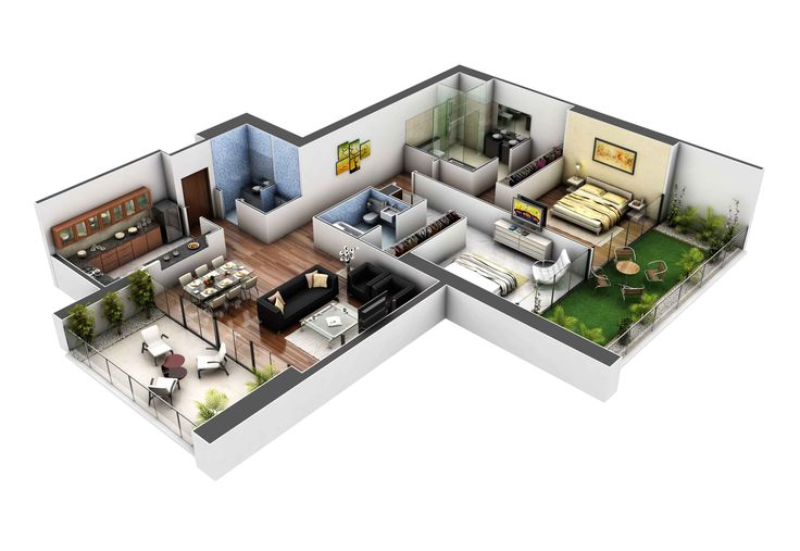 2010 CS 2BHK_01.jpg (4000×2756)   Dream houses/apartments