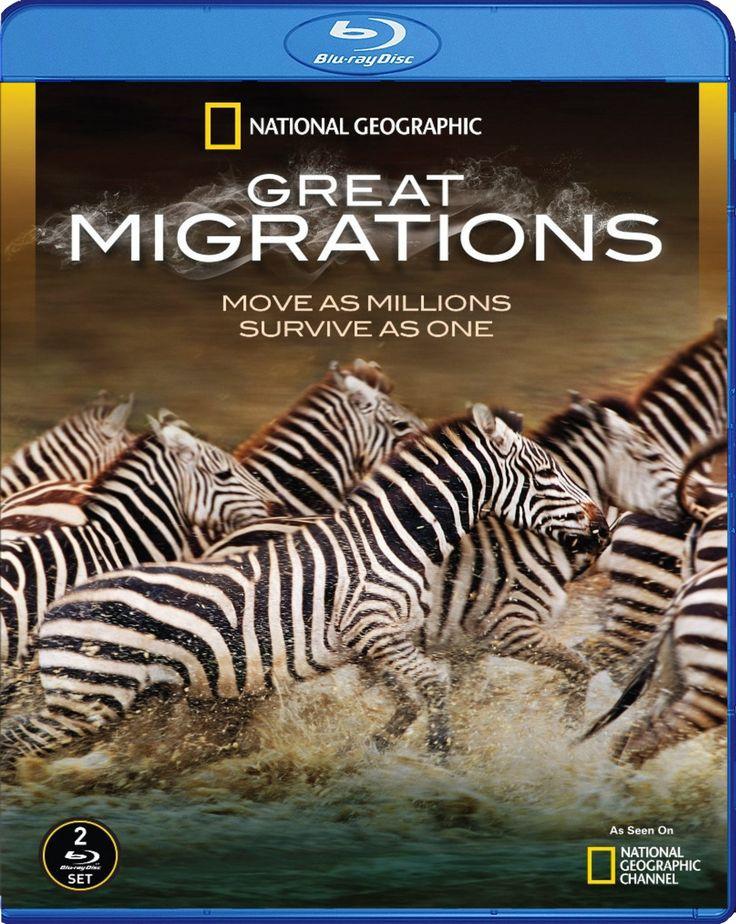 Great Migrations - Büyük Göçler [2010]  Blu-ray Cover