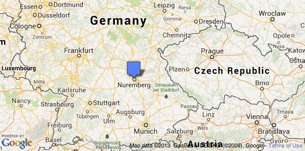 Map Of Germany Nuremberg.Google Map Nuremberg Christmas Christmas Markets Nuremberg