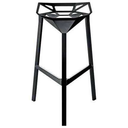 Barová židle Stool, černá