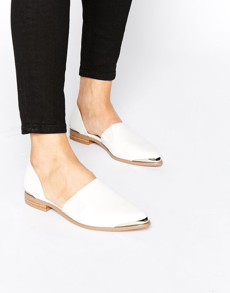 Image 1 of ASOS MADDISON Pointed Flat Shoes