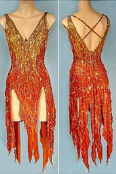 c. 1970's  MARY TYLER MOORE  BOB MACKIE  Flame Dance Costume