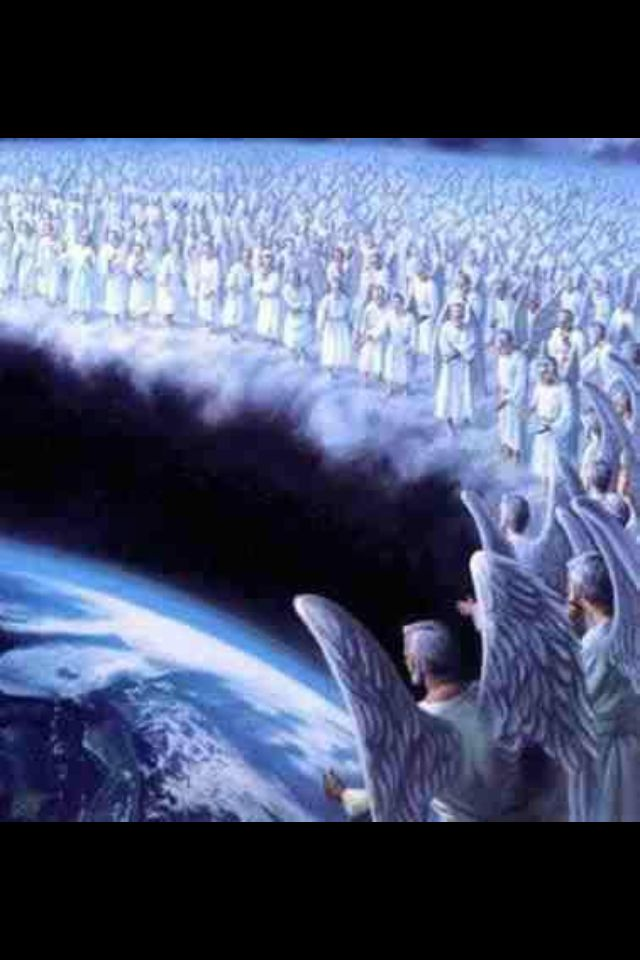 What we don't see is the invisible heavenly host of angels that God is using to accomplish his will, led by Christ Jesus. Revelation says that angels are not only spearheading the preaching of God's Kingdom message, but they are holding back the 4 winds of the heavens, enabling the preaching work to be done before Jehovah's Day comes.