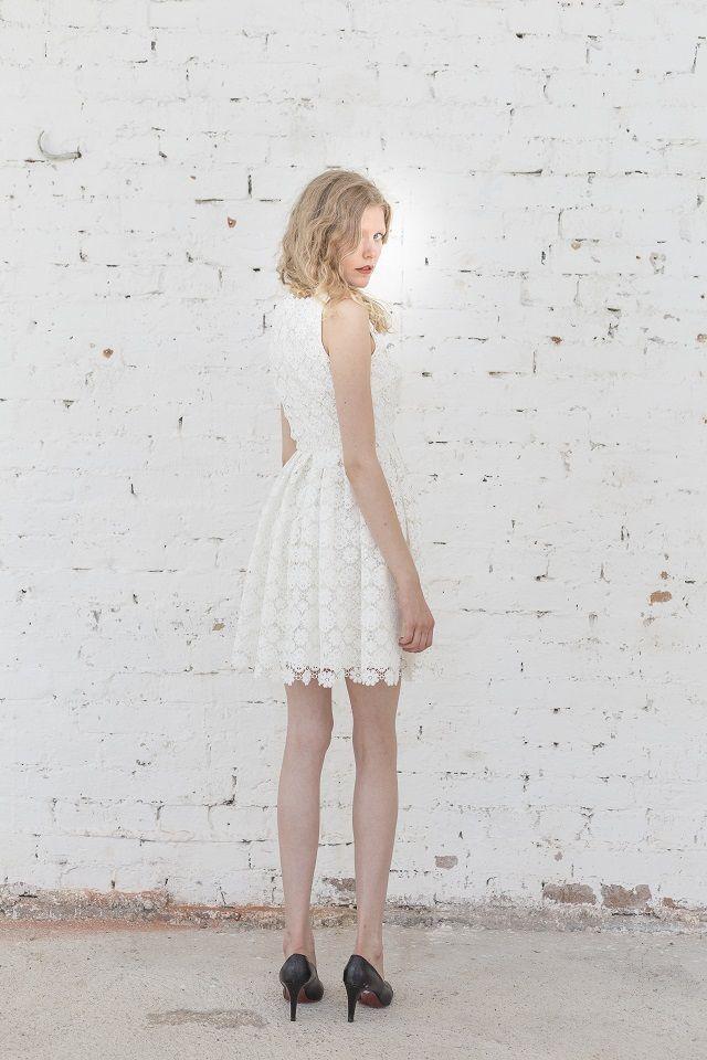 petite robe de mariée non conventionnelle sur Trendy Wedding