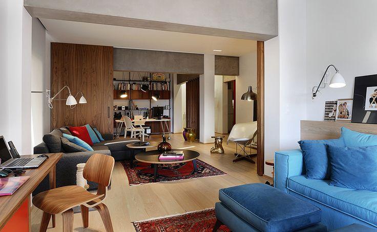 Apartment in Thessaloniki bby Minas Kosmidis-Architecture In Concept #ArchitectureInConcept #MinasKosmidis