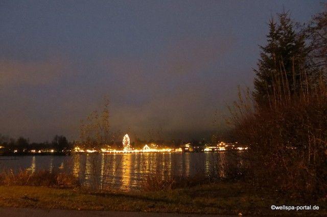 Lichterzauber am Weihnachtlicher Schlossmarkt #Tegernsee - http://wellness-bummler.de/weihnachtszauber-am-tegernsee/