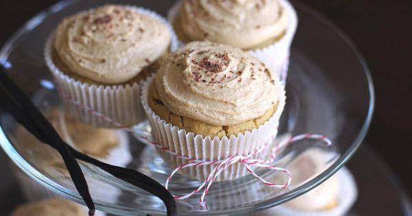 Vanilla Toffee Quinoa Cupcakes - Desserts with Benefits