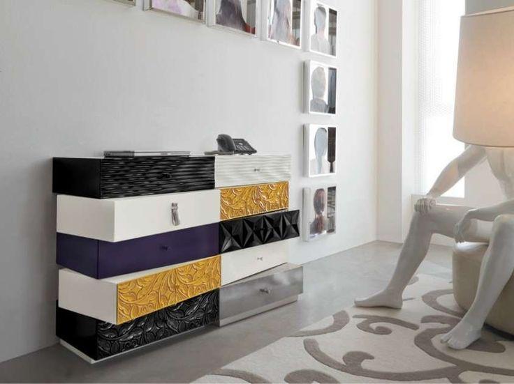 Mobili componibili per la camera da letto - Cassettiera modulare di Bizzotto