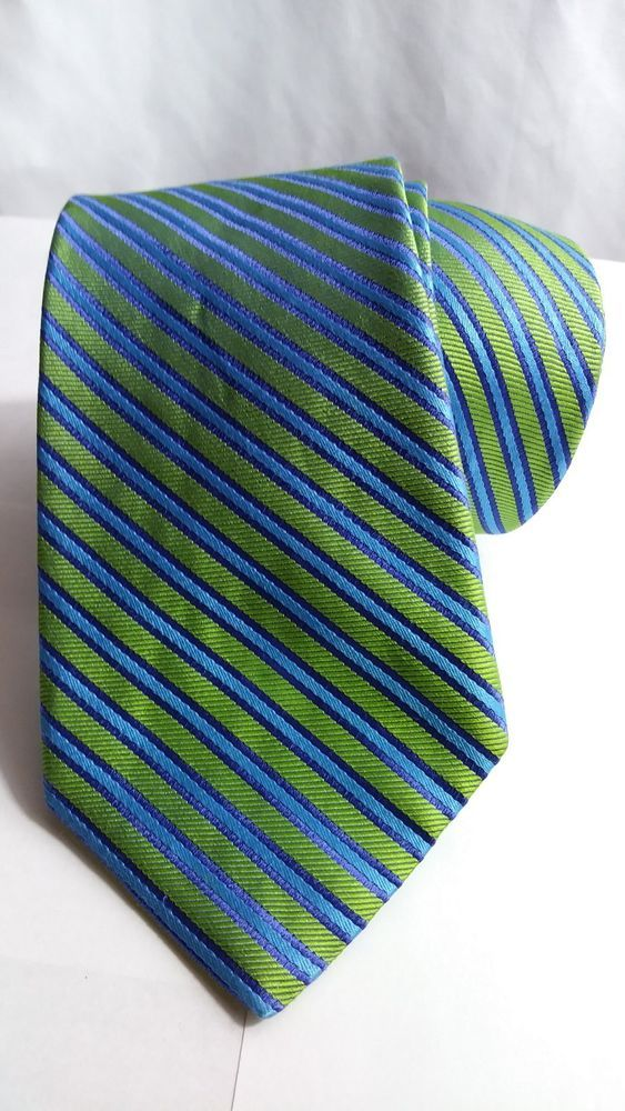 6d7f73825b68 Ted Baker Mens neck Tie blue green purple polka dot striped 100% silk L59  W3 | Clothing, Shoes & Accessories, Men's Accessories, Ties | eBay!