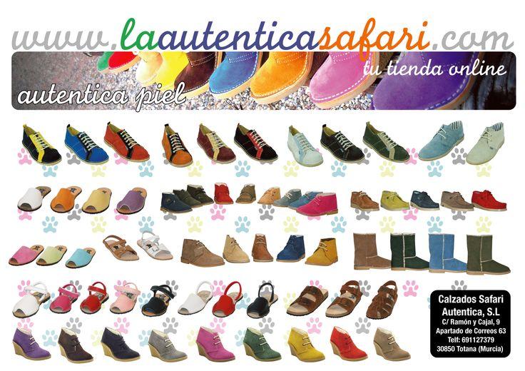 Fabricación y venta de #calzado de piel. Tallas especiales. A partir de 4 pares gastos de envío #gratis http://www.laautenticasafari.com