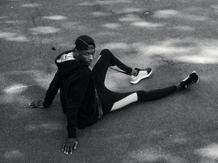 Block Reflective Pants. #active #tights #running #training