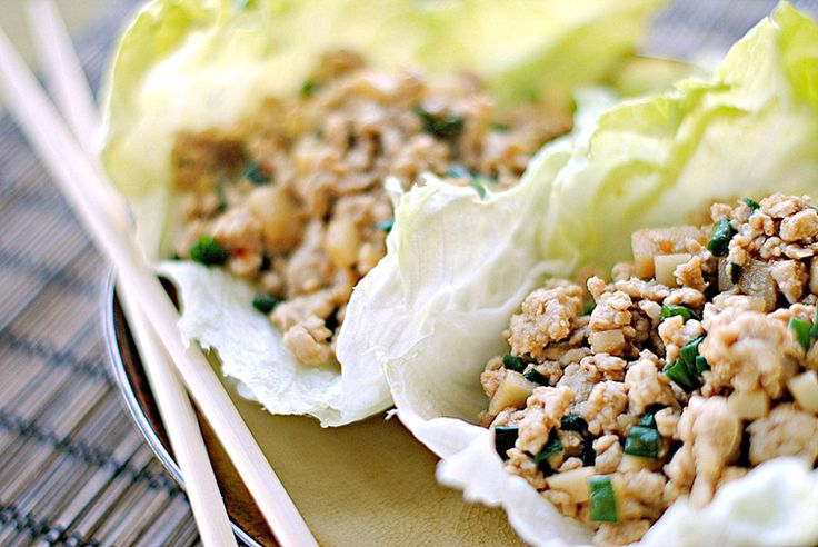 how to make lettuce wraps with ground beef
