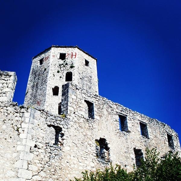 Bosna Hersek / Poçiteli kalesi