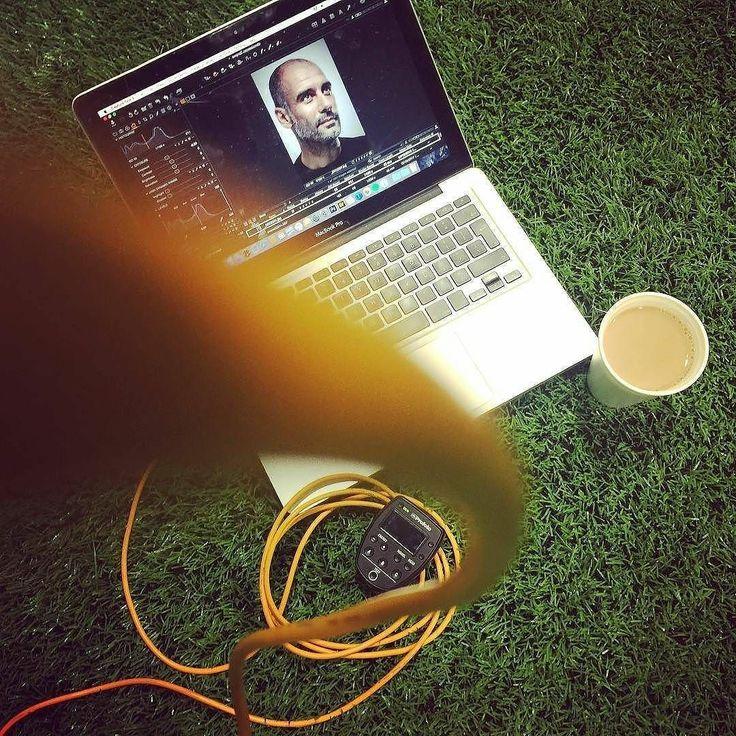 #Repost @stuartmanley  BTS old shoot for @fourfourtwouk & pep guardiola - @tethertools @profotoglobal @famousbtsmagazine @mancity @captureonepro #betterwhenyoutether #tethertools #profoto #photography #photo #tether