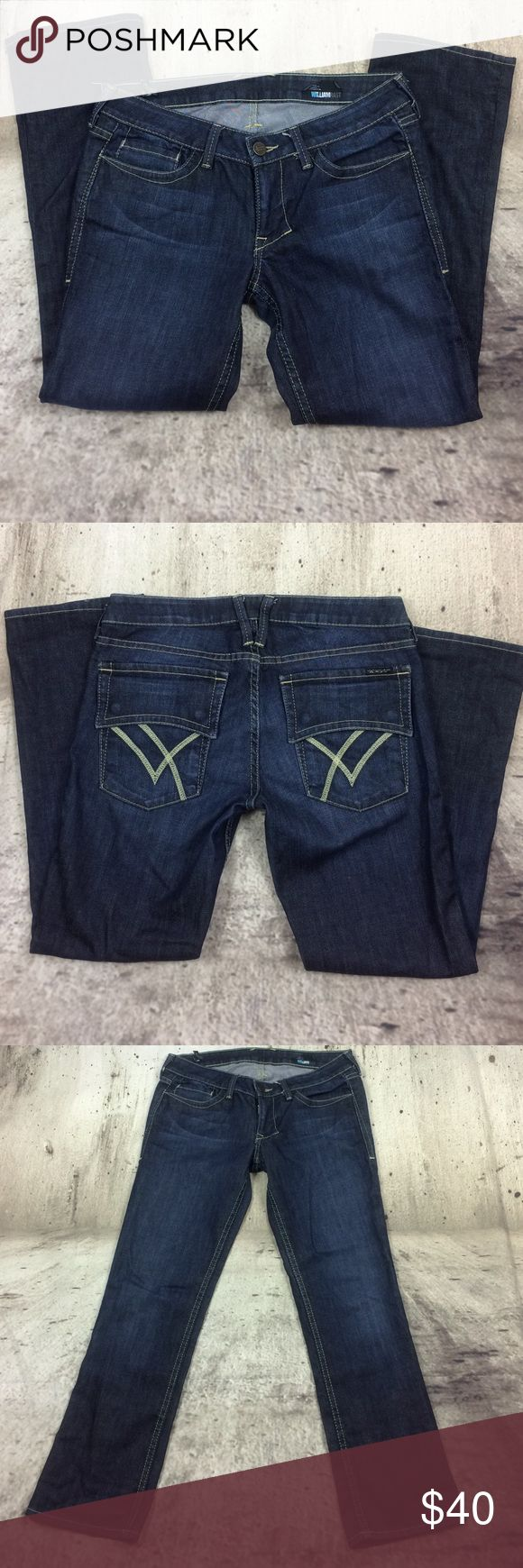 """William Rast the Capri flared and cropped jeans William Rast the Capri flared and cropped jeans cotton and spandex blend inseam 27""""rise 7.5"""" William Rast Jeans Ankle & Cropped"""