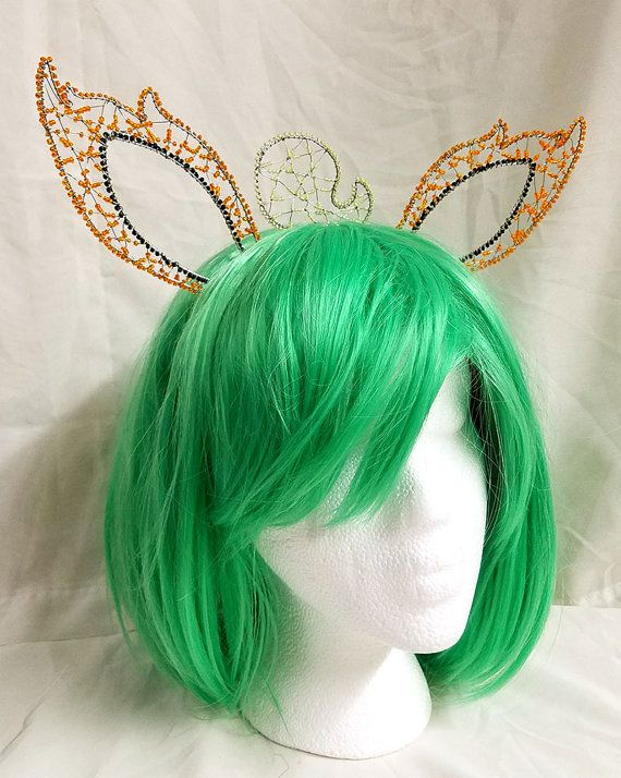 Beaded Eeveelution Ears Headbands by ChainedDragonWorks on Etsy  All eeveelutions available to be made.