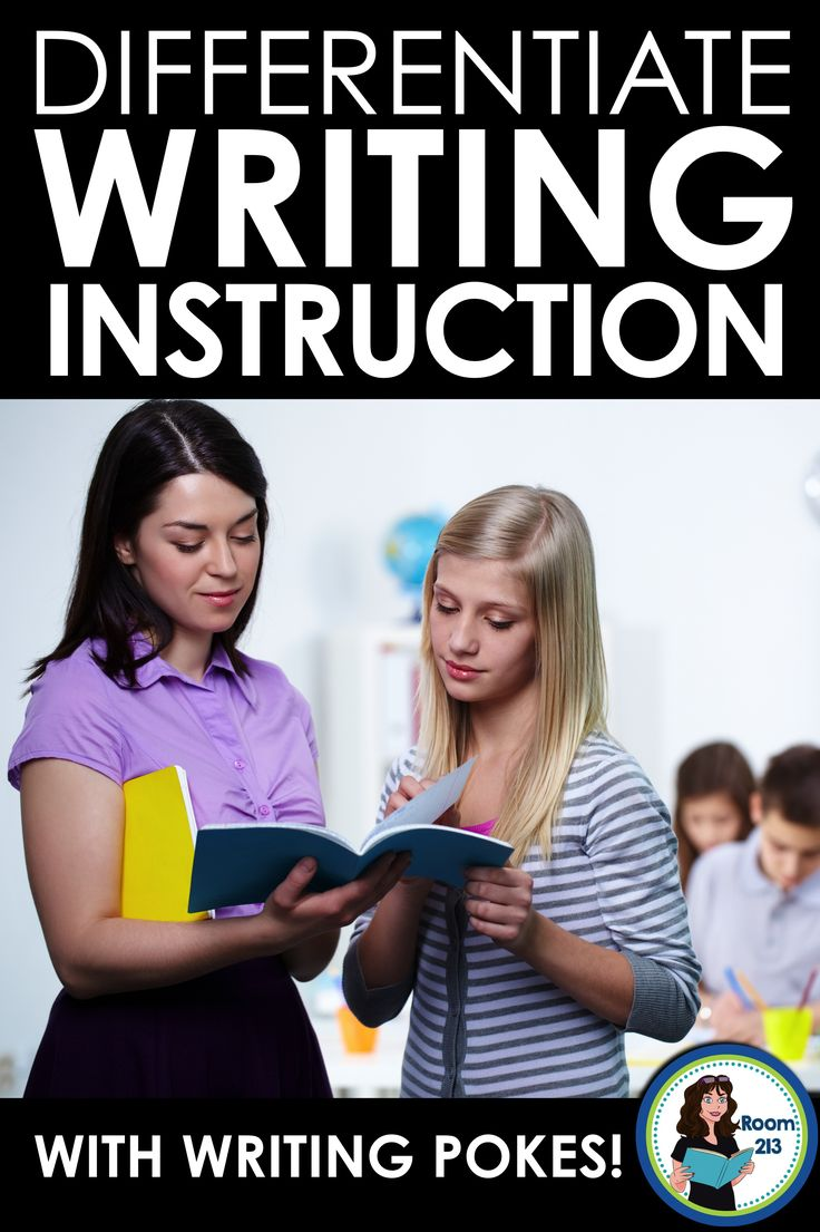 Do you find it hard to differentiate your instruction with middle or high school students? These writing pokes make it easy help each student work on what s/he needs to work on.