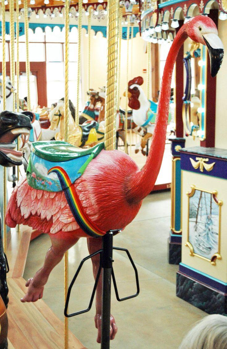 National carousel association denver zoo carousel african wild dog - The Carousel Works Flamingo