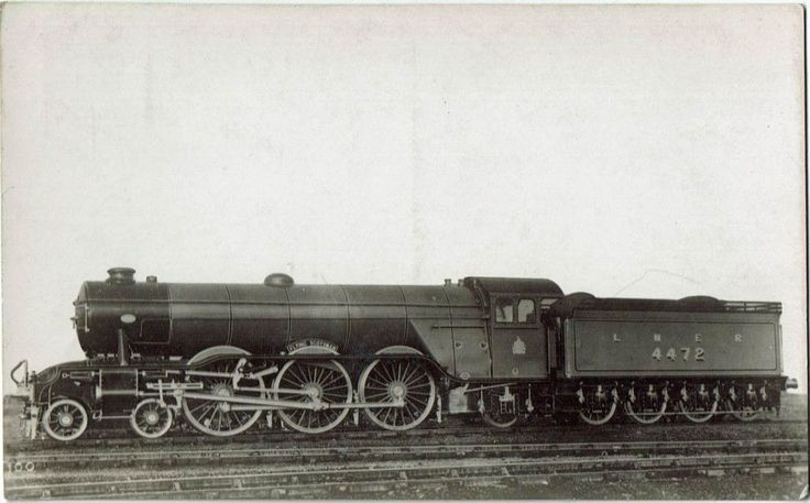 Railway RP Postcard LNER A1 4472 Flying Scotsman Gresley Pacific Loco A3 | eBay