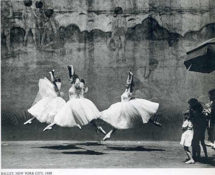 Ballet, NYC, 1938