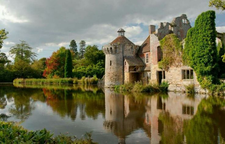 'Autumn Reflections at Scotney Castle', photo by  Ellen Rooney.