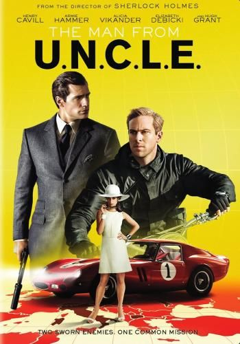 The Man From U.N.C.L.E., Movie on DVD, Action Movies, Suspense