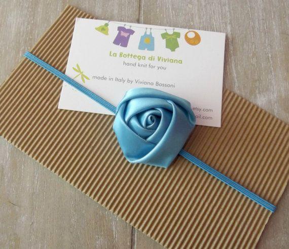 Photo props Newborn  Headband flower by LaBottegaDiViviana on Etsy, €3.50