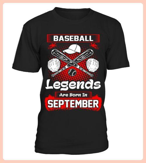 Baseball Legends Are Born In September (*Partner Link)