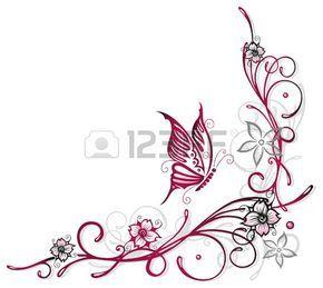 Elemento floreale, fiori di ciliegio, tempo di primavera Archivio Fotografico - 23898923