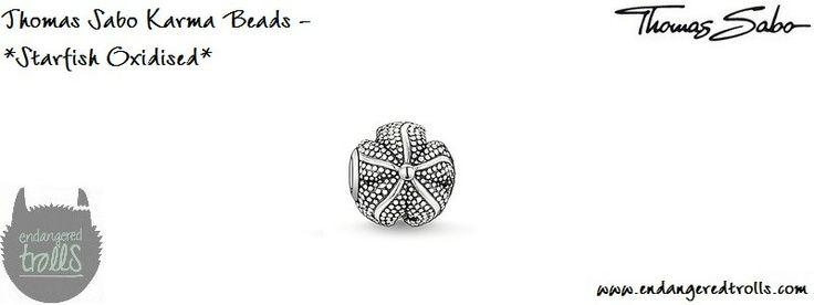 Thomas Sabo Karma Beads Starfish (oxidised)