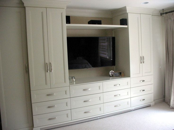 Built In Custom Cabinetry for Roslyn NY Master Bedroom  Home and Garden in 2019  Bedroom